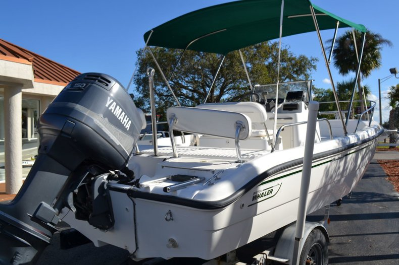 Thumbnail 5 for Used 2000 Boston Whaler 18 Dauntless boat for sale in Vero Beach, FL