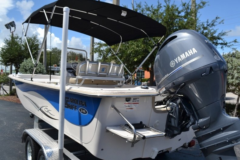 Thumbnail 3 for New 2019 Carolina Skiff 218DLV boat for sale in Vero Beach, FL