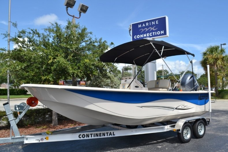 Thumbnail 1 for New 2019 Carolina Skiff 218DLV boat for sale in Vero Beach, FL