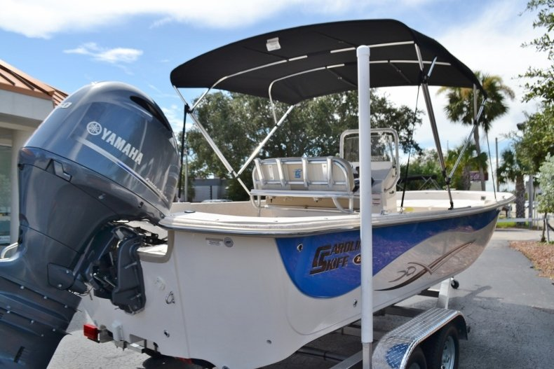 Thumbnail 5 for New 2019 Carolina Skiff 218DLV boat for sale in Vero Beach, FL
