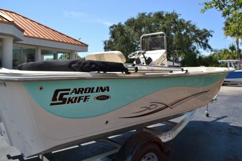 Thumbnail 8 for New 2019 Carolina Skiff 198DLV boat for sale in Vero Beach, FL