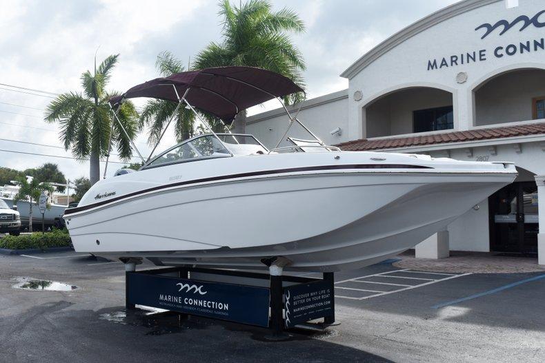 Thumbnail 1 for New 2019 Hurricane 217 SunDeck OB boat for sale in Vero Beach, FL