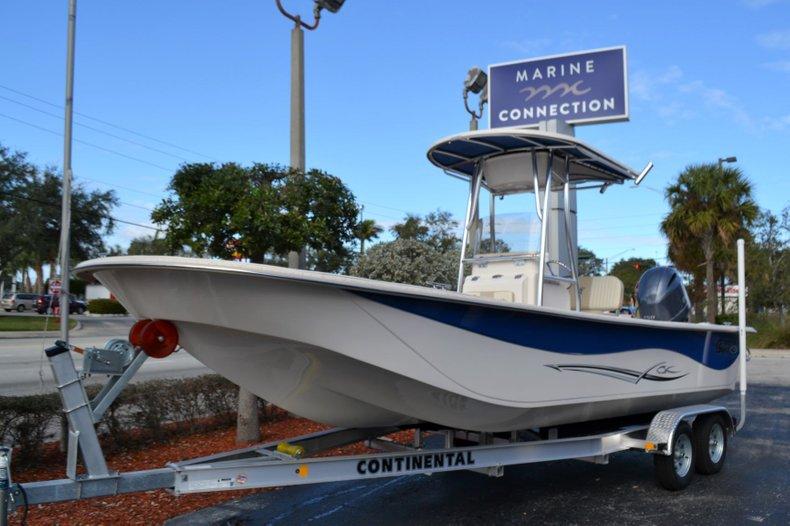 Thumbnail 1 for New 2019 Carolina Skiff 238 DLV boat for sale in Vero Beach, FL