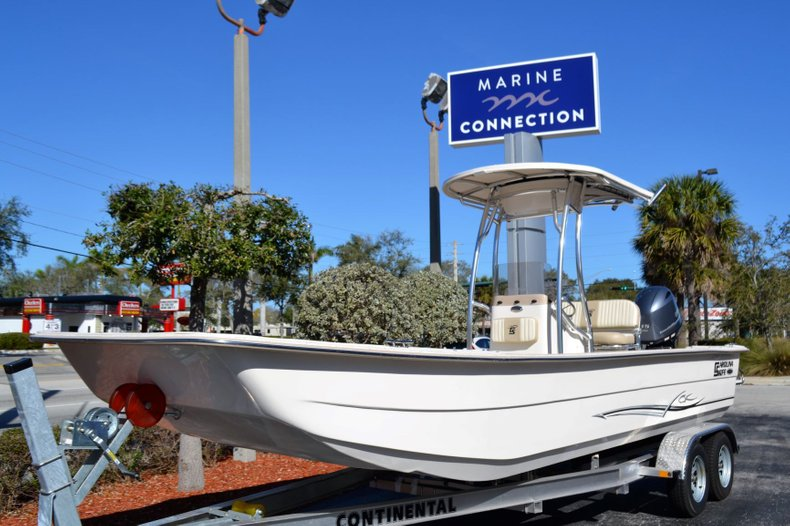 Thumbnail 1 for New 2019 Carolina Skiff 2480 DLX boat for sale in Vero Beach, FL