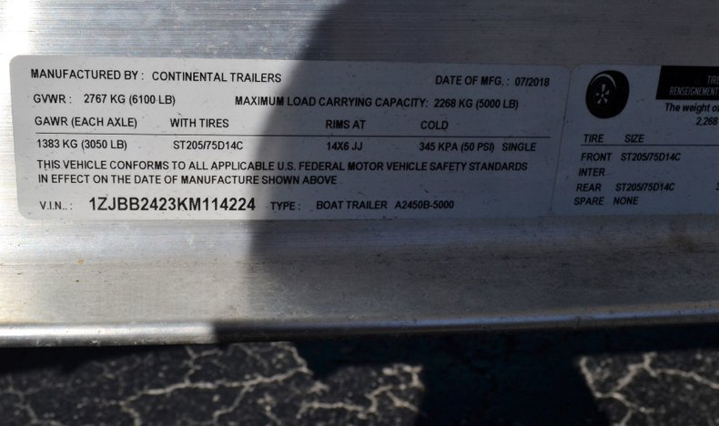 Thumbnail 20 for New 2019 Carolina Skiff 2480 DLX boat for sale in Vero Beach, FL
