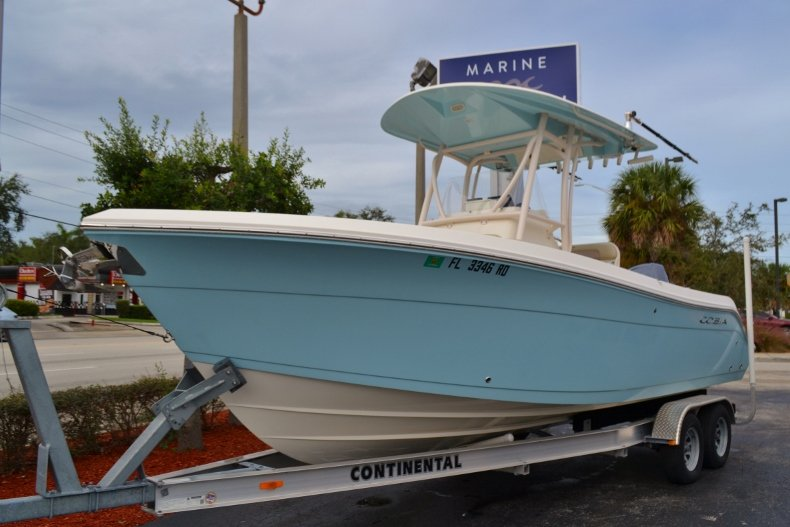 Thumbnail 1 for Used 2016 Cobia 237 Center Console boat for sale in Vero Beach, FL