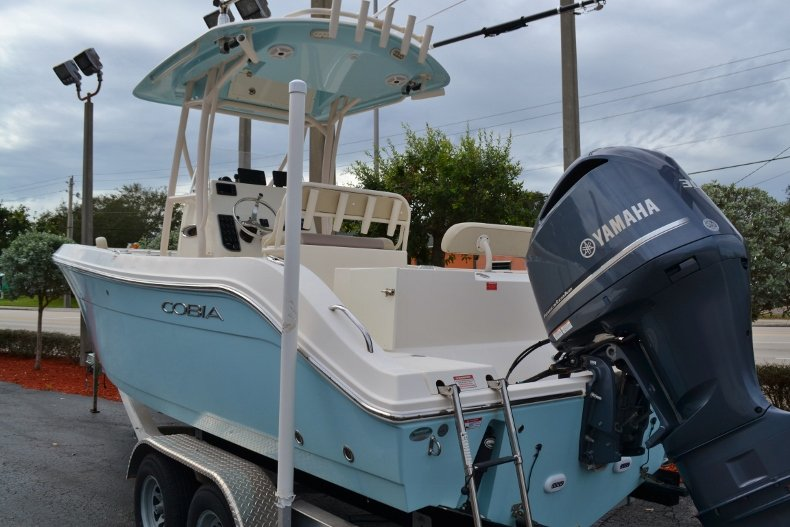Thumbnail 3 for Used 2016 Cobia 237 Center Console boat for sale in Vero Beach, FL