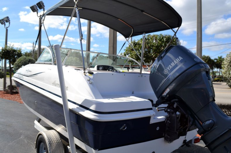 Thumbnail 3 for Used 2014 Hurricane 187 SD boat for sale in Vero Beach, FL