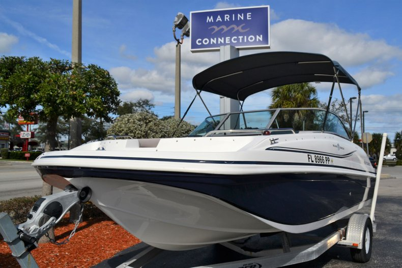 Thumbnail 1 for Used 2014 Hurricane 187 SD boat for sale in Vero Beach, FL