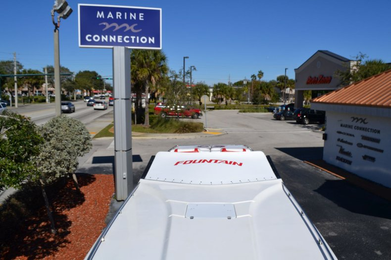 Thumbnail 33 for Used 2000 Fountain 38 Fever boat for sale in Vero Beach, FL