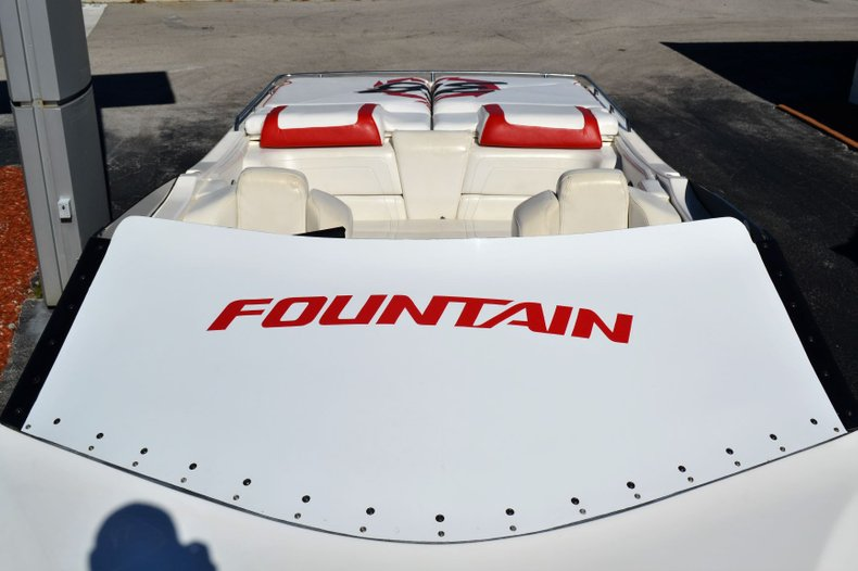 Thumbnail 34 for Used 2000 Fountain 38 Fever boat for sale in Vero Beach, FL