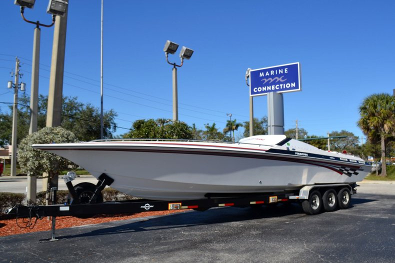 Thumbnail 0 for Used 2000 Fountain 38 Fever boat for sale in Vero Beach, FL