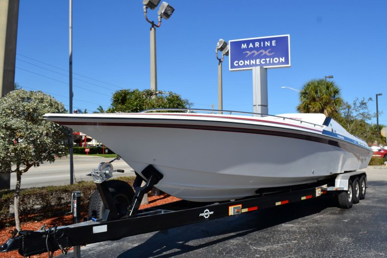 Thumbnail 1 for Used 2000 Fountain 38 Fever boat for sale in Vero Beach, FL