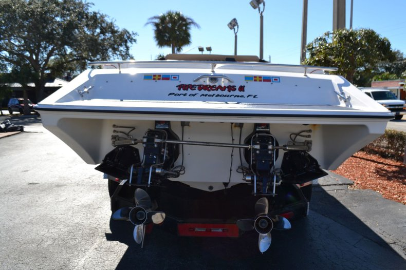 Thumbnail 4 for Used 2000 Fountain 38 Fever boat for sale in Vero Beach, FL