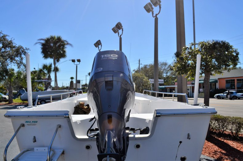 Thumbnail 4 for Used 2003 Sea Pro SV2300 boat for sale in Vero Beach, FL
