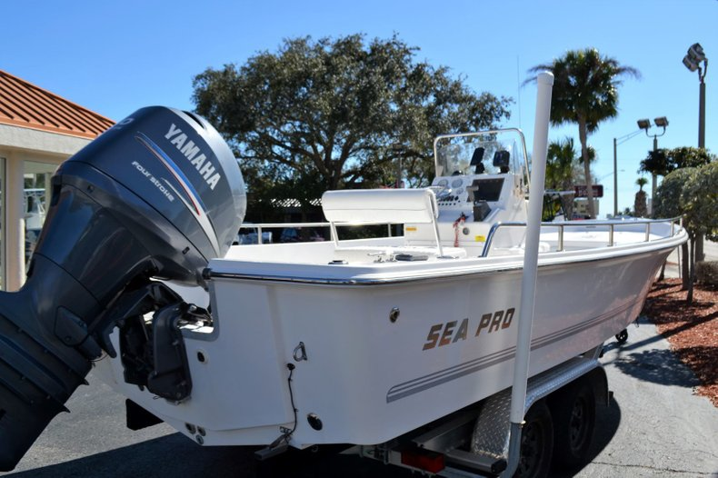 Thumbnail 5 for Used 2003 Sea Pro SV2300 boat for sale in Vero Beach, FL