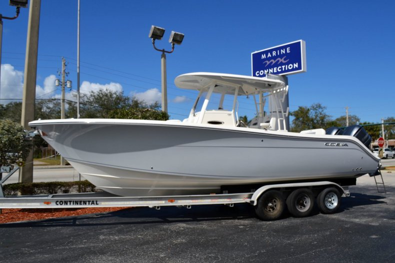 Thumbnail 0 for New 2019 Cobia 301 CC Center Console boat for sale in Vero Beach, FL