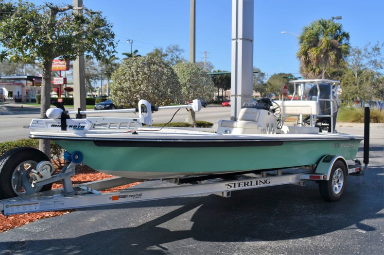 Thumbnail 1 for Used 2014 Sterling 180 T boat for sale in Vero Beach, FL