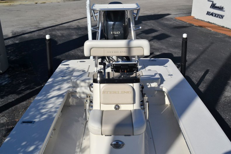 Thumbnail 17 for Used 2014 Sterling 180 T boat for sale in Vero Beach, FL