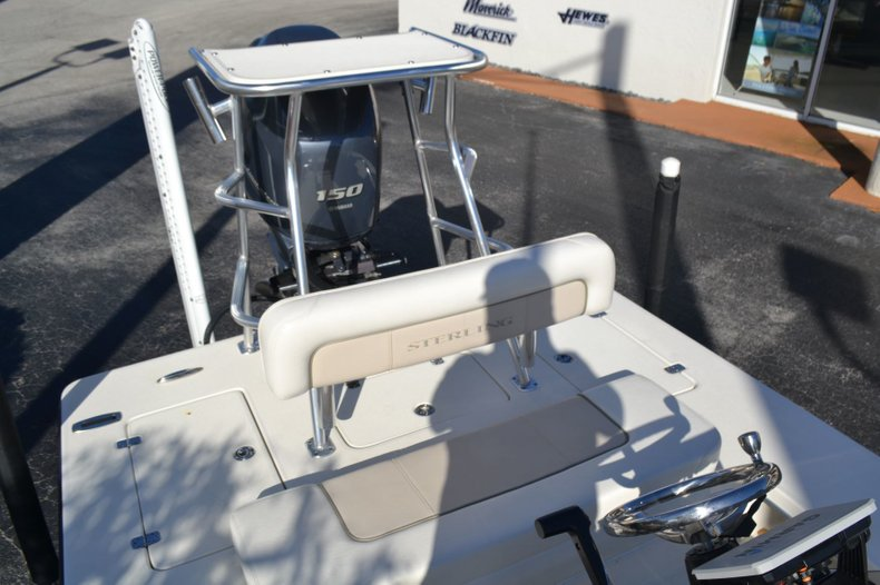 Thumbnail 20 for Used 2014 Sterling 180 T boat for sale in Vero Beach, FL