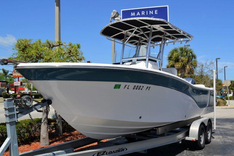 Thumbnail 1 for Used 2014 Sea Fox 249 Avenger boat for sale in Vero Beach, FL