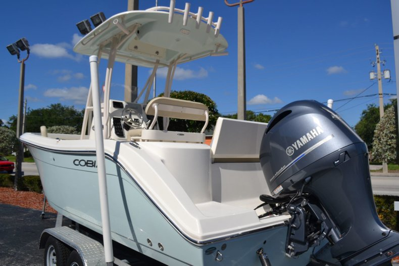 Thumbnail 2 for Used 2018 Cobia 220 Center Console boat for sale in Vero Beach, FL