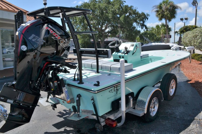 Thumbnail 5 for Used 2017 Beavertail 18 Air boat for sale in Vero Beach, FL
