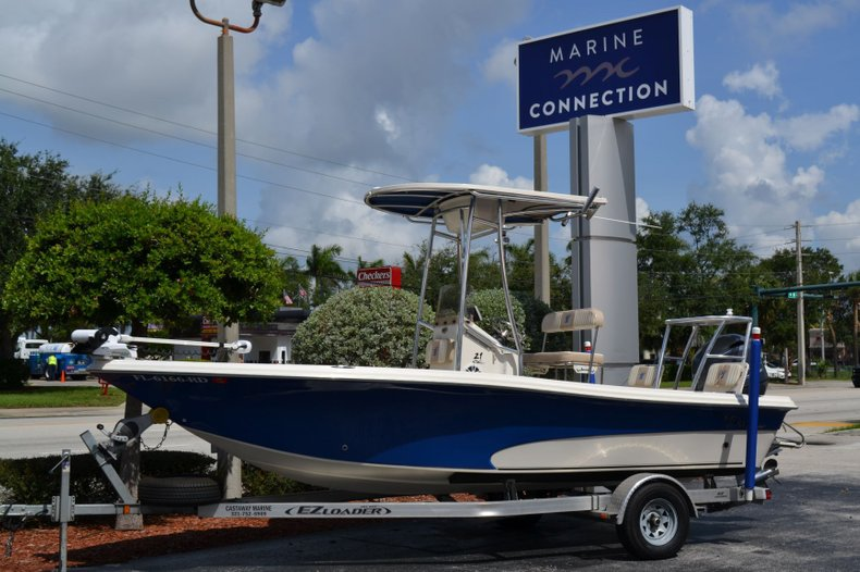 Thumbnail 1 for Used 2016 Carolina Skiff 21 SEA SKIFF boat for sale in Vero Beach, FL