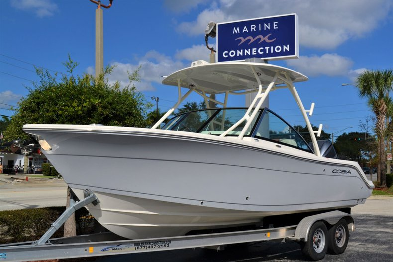 Thumbnail 1 for New 2020 Cobia 240 Dual Console boat for sale in Vero Beach, FL