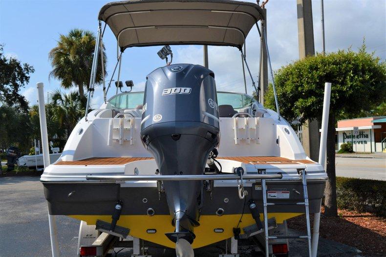 Thumbnail 4 for Used 2014 Hurricane SunDeck SD 2690 OB boat for sale in Vero Beach, FL