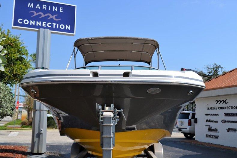 Thumbnail 2 for Used 2014 Hurricane SunDeck SD 2690 OB boat for sale in Vero Beach, FL