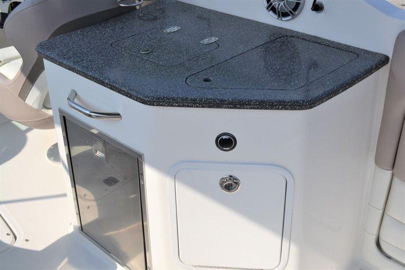 Thumbnail 10 for Used 2014 Hurricane SunDeck SD 2690 OB boat for sale in Vero Beach, FL