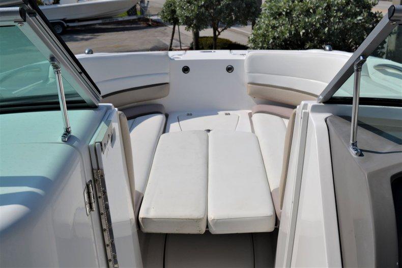 Thumbnail 18 for Used 2014 Hurricane SunDeck SD 2690 OB boat for sale in Vero Beach, FL