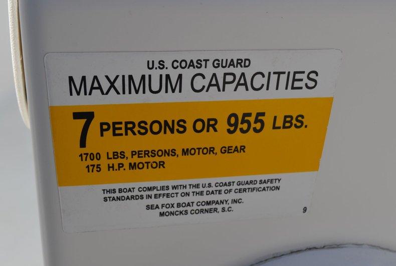 Thumbnail 15 for Used 2011 Sea Fox 206 Center Console boat for sale in Vero Beach, FL