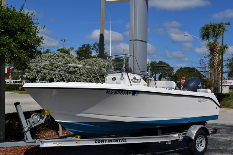 Thumbnail 1 for Used 2012 Edgewater 170 CC boat for sale in Vero Beach, FL