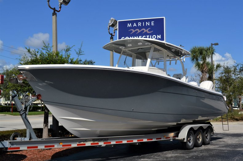 Thumbnail 1 for New 2020 Cobia 350 Center Console boat for sale in Vero Beach, FL
