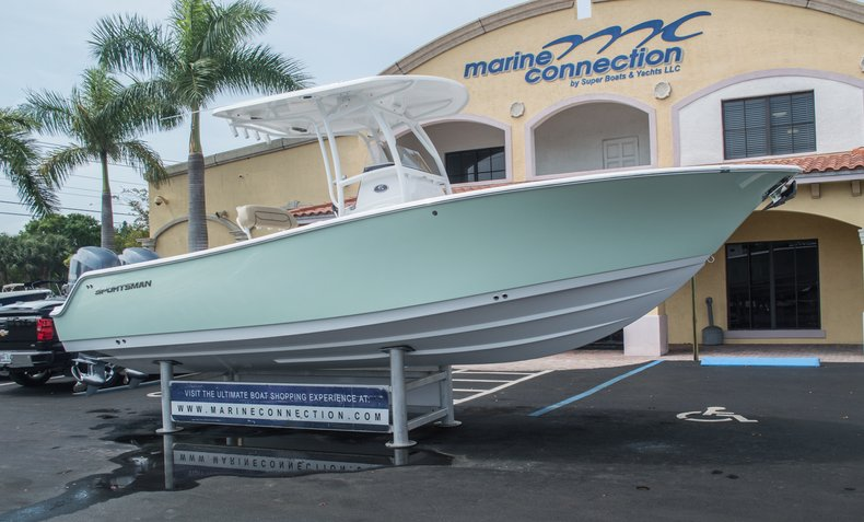 Thumbnail 1 for New 2015 Sportsman Open 252 Center Console boat for sale in Miami, FL