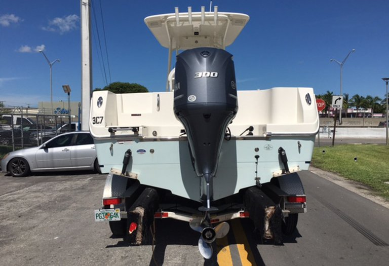 Thumbnail 1 for Used 2015 Sailfish 240 CC Center Console boat for sale in Miami, FL