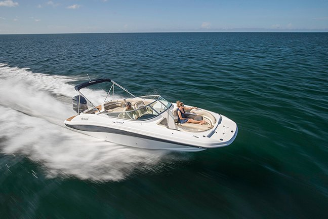 New 2017 Hurricane Sundeck Sd 2690 Ob Boat For Sale In
