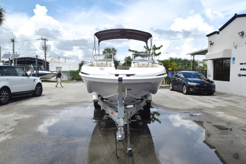 Thumbnail 1 for New 2019 Hurricane 217 SunDeck OB boat for sale in West Palm Beach, FL