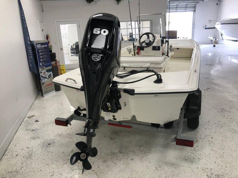 Thumbnail 3 for Used 2016 Mako Pro Skiff 17 boat for sale in Miami, FL