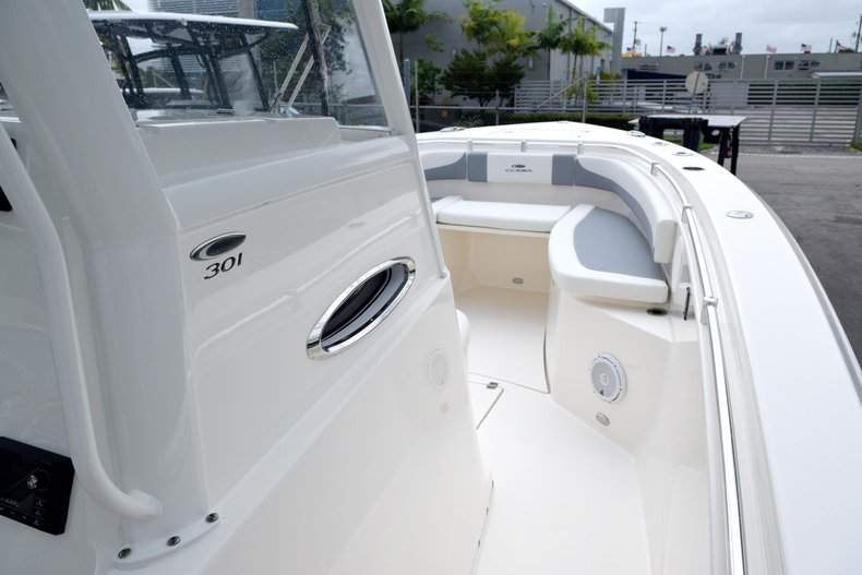 Thumbnail 69 for New 2019 Cobia 301 CC Center Console boat for sale in Vero Beach, FL