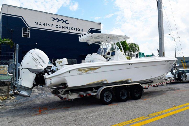 Thumbnail 2 for Used 2018 Glasstream 328 boat for sale in Miami, FL