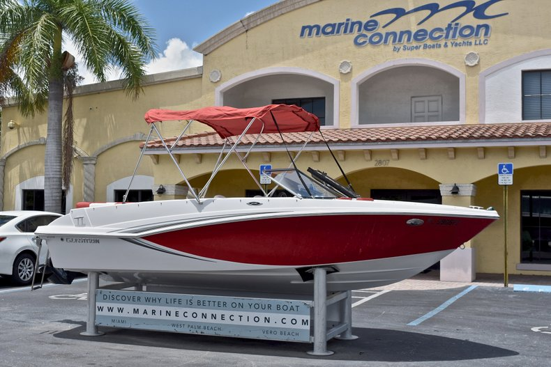 Thumbnail 1 for Used 2014 Glastron GT185 Bowrider boat for sale in Fort Lauderdale, FL