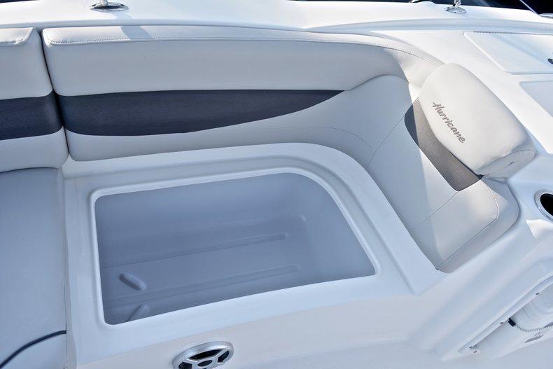 Thumbnail 22 for New 2018 Hurricane 203 SunDeck Sport OB boat for sale in West Palm Beach, FL