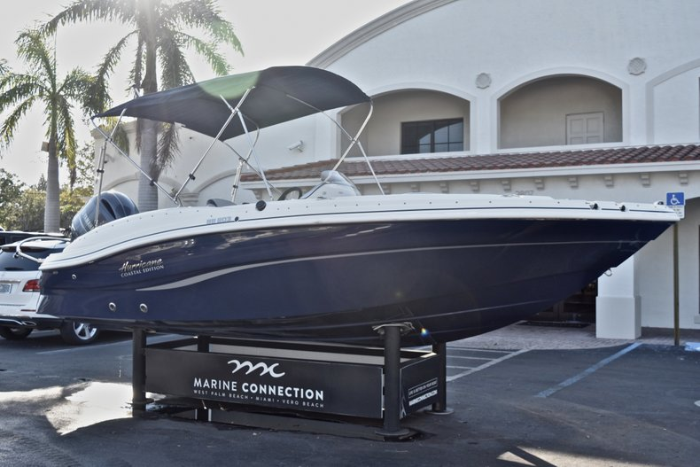 Thumbnail 1 for New 2018 Hurricane 203 SunDeck Sport OB boat for sale in West Palm Beach, FL