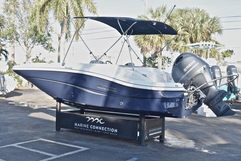 Thumbnail 5 for New 2018 Hurricane 203 SunDeck Sport OB boat for sale in Fort Lauderdale, FL