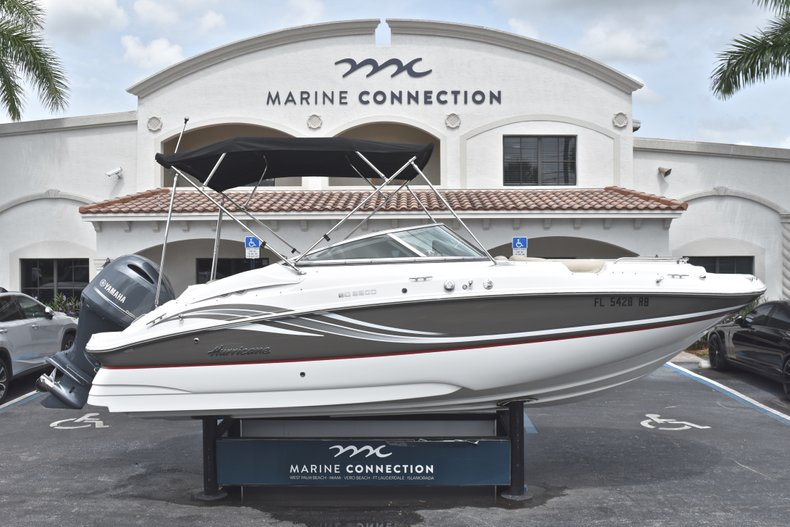 Thumbnail 0 for Used 2016 Hurricane SunDeck SD 2200 OB boat for sale in Fort Lauderdale, FL