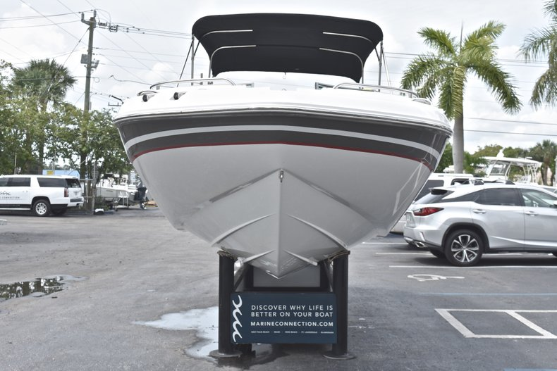Thumbnail 2 for Used 2016 Hurricane SunDeck SD 2200 OB boat for sale in Fort Lauderdale, FL