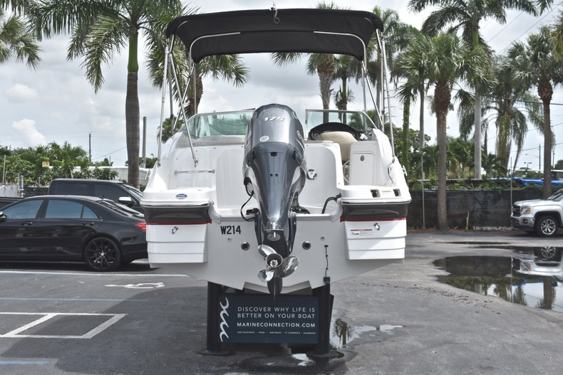 Thumbnail 6 for Used 2016 Hurricane SunDeck SD 2200 OB boat for sale in Fort Lauderdale, FL